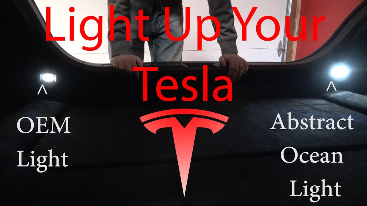 Light Up Your Tesla! Replacing OEM lights with Abstract Ocean Lighting - YouTube & Light Up Your Tesla! Replacing OEM lights with Abstract Ocean ... azcodes.com