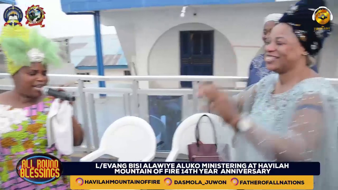 Download DR. EVAN BISI ALAWIYE ALUKO LIVE AT HAVILAH MOUNTAIN OF FIRE WITH THE OLUBORI'S (PART 2)
