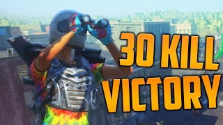 30 KILL VICTORY! (H1Z1 King of the Kill)