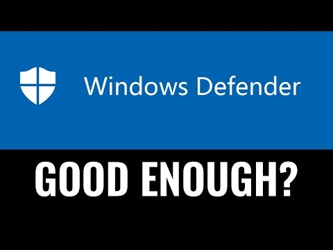 Windows Defender, Good enough?
