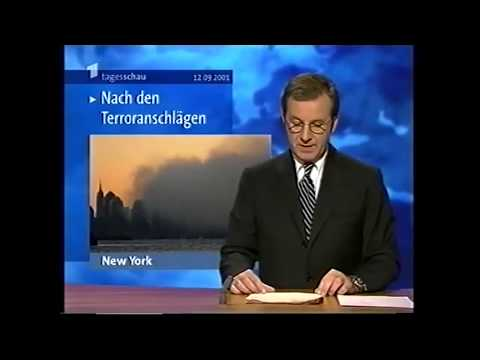 11. September 2001  WorldTradeCenter und Pentagon: So berichteten ARD Tagesschau und ZDF