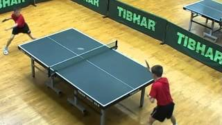 Tibhar Basic exercises in TableTennis training