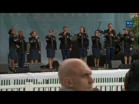 White House Easter Egg Roll: Bunny Hop Stage with the United States Army Band