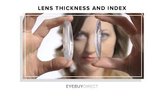 Lens Thickness and Index   EyeBuyDirect Video