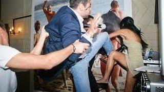 В Кемере среди украинских и русскими отдыхающими завязалась конкретная разборка(Массовая драка между российскими туристами и украинскими в Кемере, Турция., 2014-10-06T11:48:41.000Z)