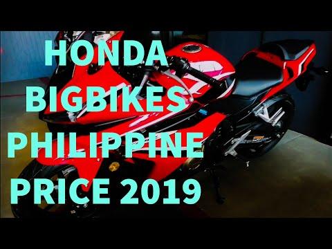 Honda Motorcycles[Bigbikes] Prices & Specs Philippines 2019