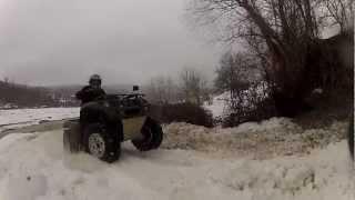 Iesire ATV ROMANIA Ramnicu Sarat 16.02.2013 Part.2