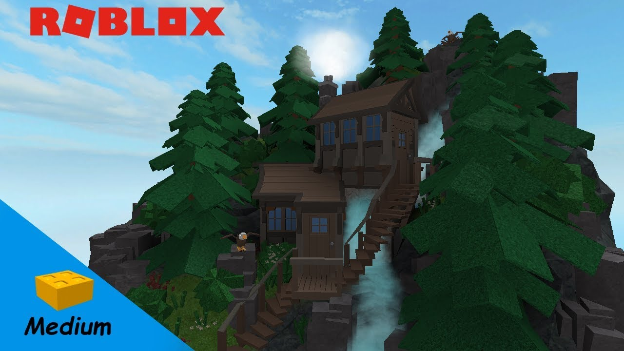 ROBLOX STUDIO SPEED BUILD / Eagle Mountain