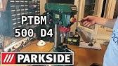 Parkside Bench Pillar Drill Ptbm 500 D4 Testing Review Youtube