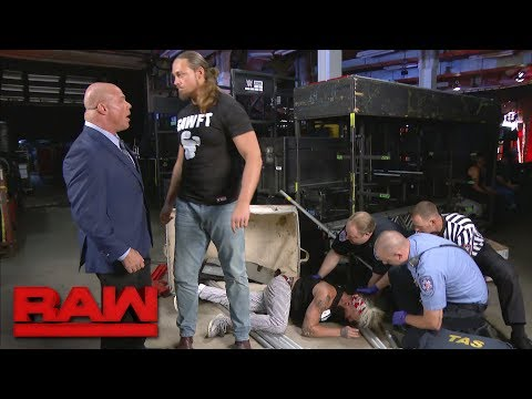 Enzo Amore is laid out yet again: Raw, May 29, 2017