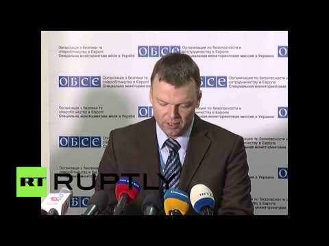 """Ukraine: Ceasefire breached in Shirokino in """"past days"""" – Alexander Hug"""