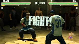 Def Jam Fight For NY : The Takeover PSP Gameplay