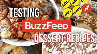 BUZZFEED Dessert Recipes TESTED