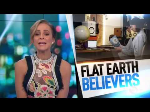 Flat Earthers on Australian TV   GLOBE IS A LIE and you can't debunk FE