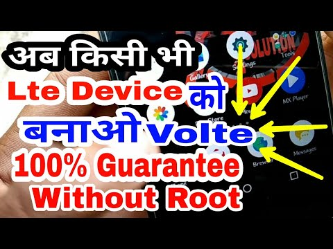How To Convert Original Volte Without Root Any Android