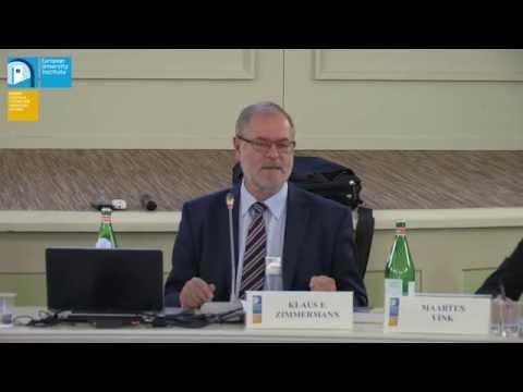The Integration of Migrants and Refugees: LABOUR MARKET INTEGRATION   Klaus F Zimmermann