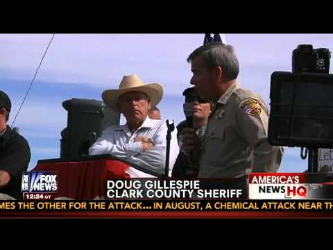 Bureau of Land Management (BLM) Retreats from Bundy Ranch in Nevada
