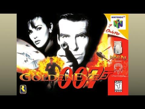 GoldenEye 007 - Mission Briefing/Main Menu