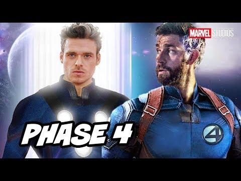 Marvel Eternals Comic Con Plot Teaser and Avengers Marvel Phase 4 Breakdown