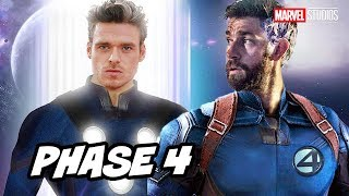 Marvel Eternals Comic Con Plot Teaser and Avengers Marvel Phase 4 Breakdown