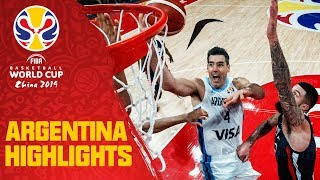 Argentina | Top Plays & Highlights | FIBA Basketball World Cup 2019