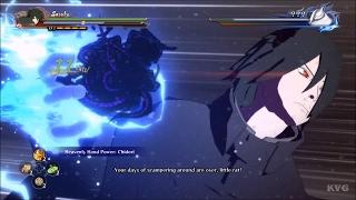 naruto road to boruto sasuke vs kinshiki story battle 1 hd