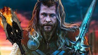 Thor okradł Saurona i Lich Kinga i jeszcze był pijany... (Blade&Sorcery VR)