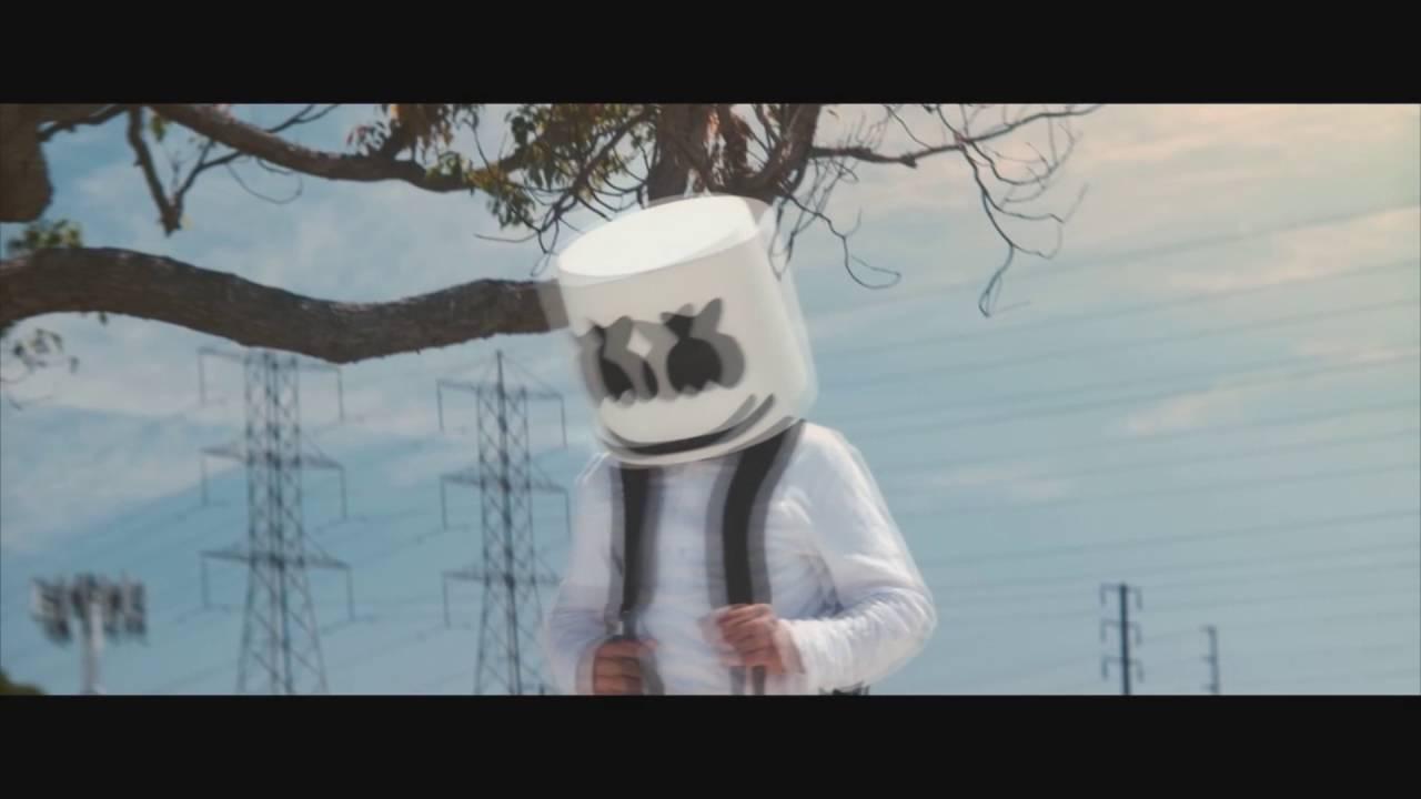 Marshmello - Alone (Official Music Video) + Lyrics