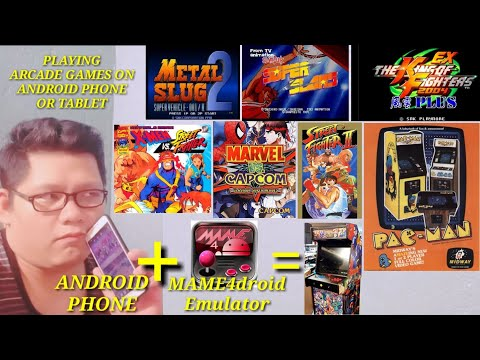 PLAYING ARCADE GAMES TO YOUR ANDROID PHONES OR TABLET USING MAME4droid EMULATOR 100% WORKING