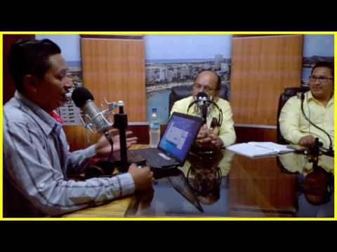 RAÚL MENOSCAL Y JOHNNY BORBOR ENTREVISTA EN RADIO SALINAS 103.3 FM