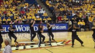WNBA Tulsa Shock opening game Featuring-  Hip-hop dance crewIGNITION