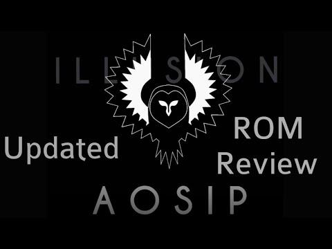 AOSiP Custom ROM running on Essential PH-1
