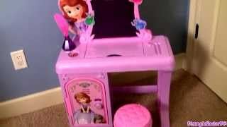 Sofia The First Royal Prep Academy Talking School Desk - Pupitre De Escuela De La Princesa Sofia