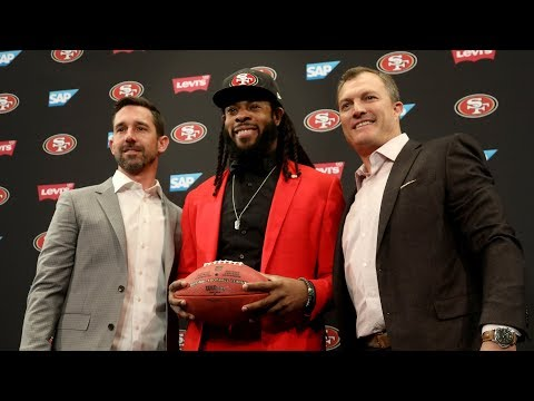 Richard Sherman on joining the 49ers, negotiating his own deal and safety Eric Reid