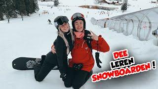 DEE LEREN SNOWBOARDEN!