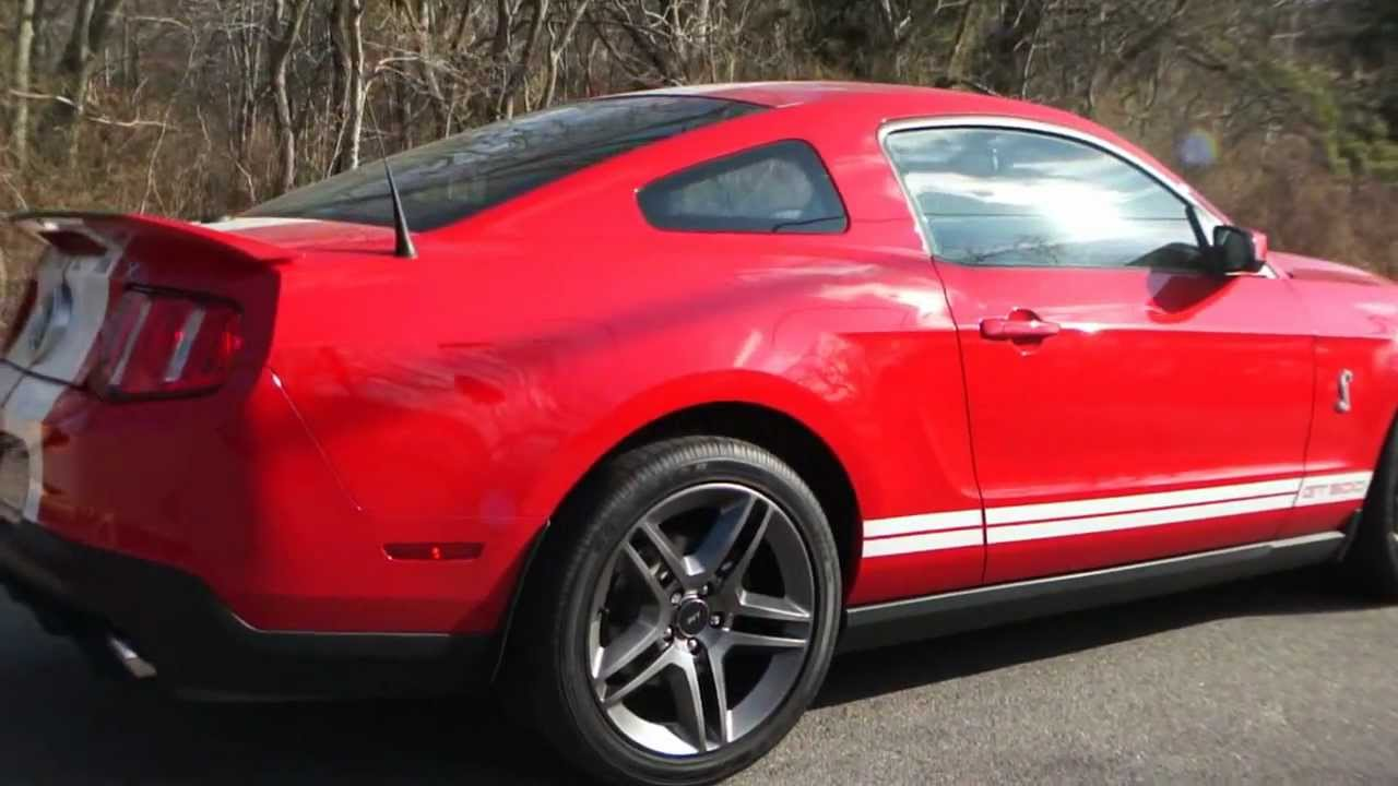 All Types 2010 mustang shelby : 2010 Ford Mustang Shelby GT500 Coupe For Sale - YouTube