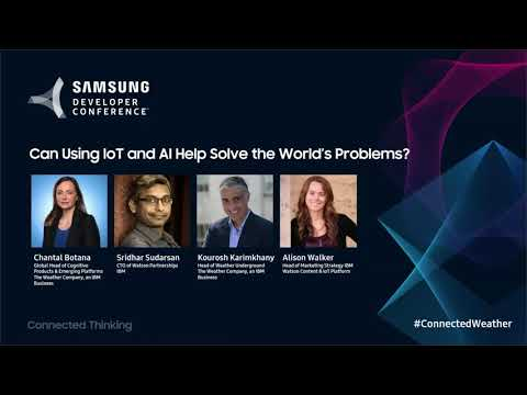 SDC 2017 Session: Can Using IoT and AI Help Solve the World'