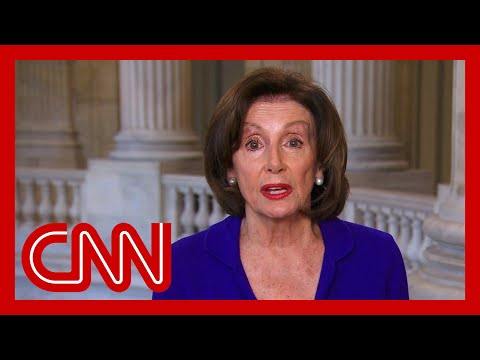 CNN: Nancy Pelosi: Trump fiddles as people are dying