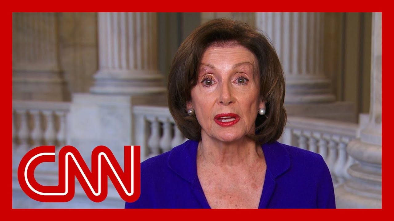 Nancy Pelosi: Trump fiddles as people are dying
