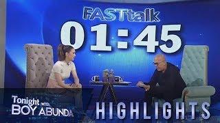 TWBA: Fast Talk with Isabela Vinzon