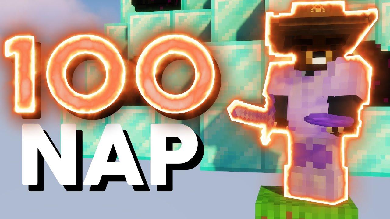 Download 100 NAP Minecraft ULTRA SKYBLOCK!💎💸