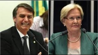Bolsonaro: Ana Amélia, MDB do RS e quem mais?  É o Tsunami do segundo turno...