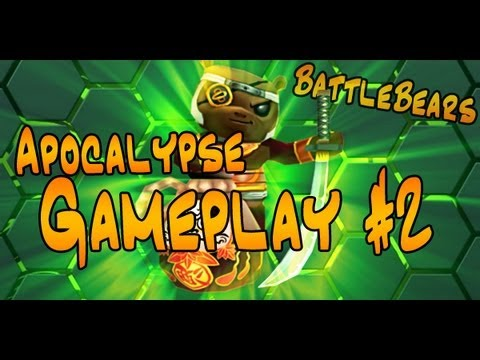 Battle Bears Gameplay #2: Ninja Soldier! [READ THE DESCRIPTION]