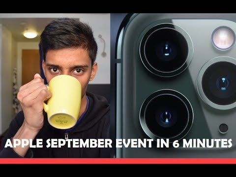Apple September Event 2019 in 6 minutes