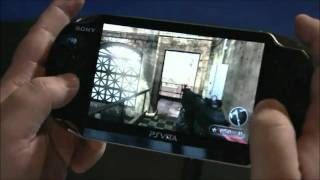 resistance ps vita official gameplay hd