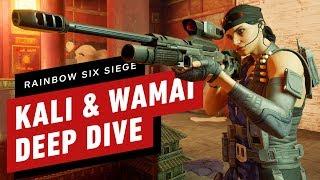 Rainbow Six Siege: A Deep Dive on Kali and Wamai