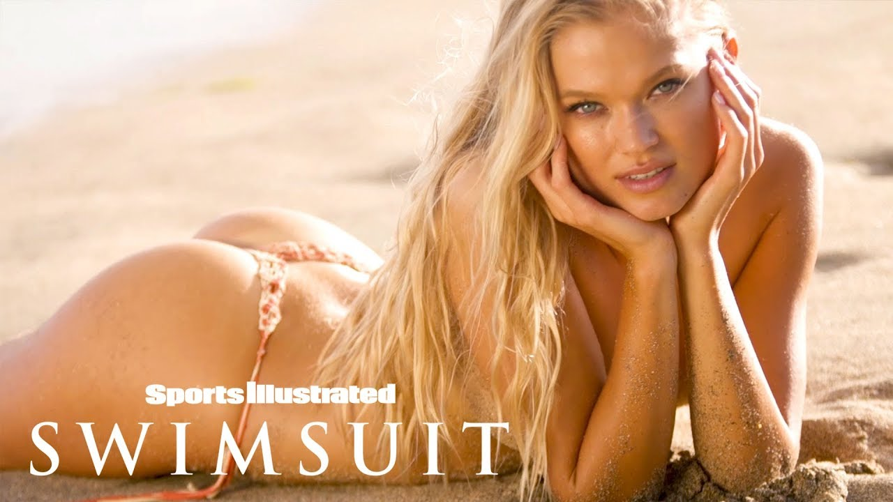 Vita Sidorkina Gets Up Close & Personal In Intimate Nevis Shoot