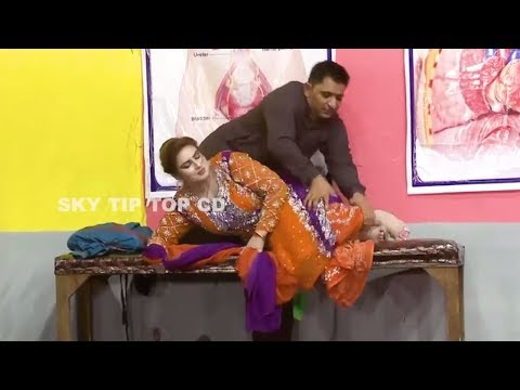 Azeem Vicky With Vicky Kodu And Zulfi Stage Drama Dhilay Aashiq 2 Full Comedy Clip 2019