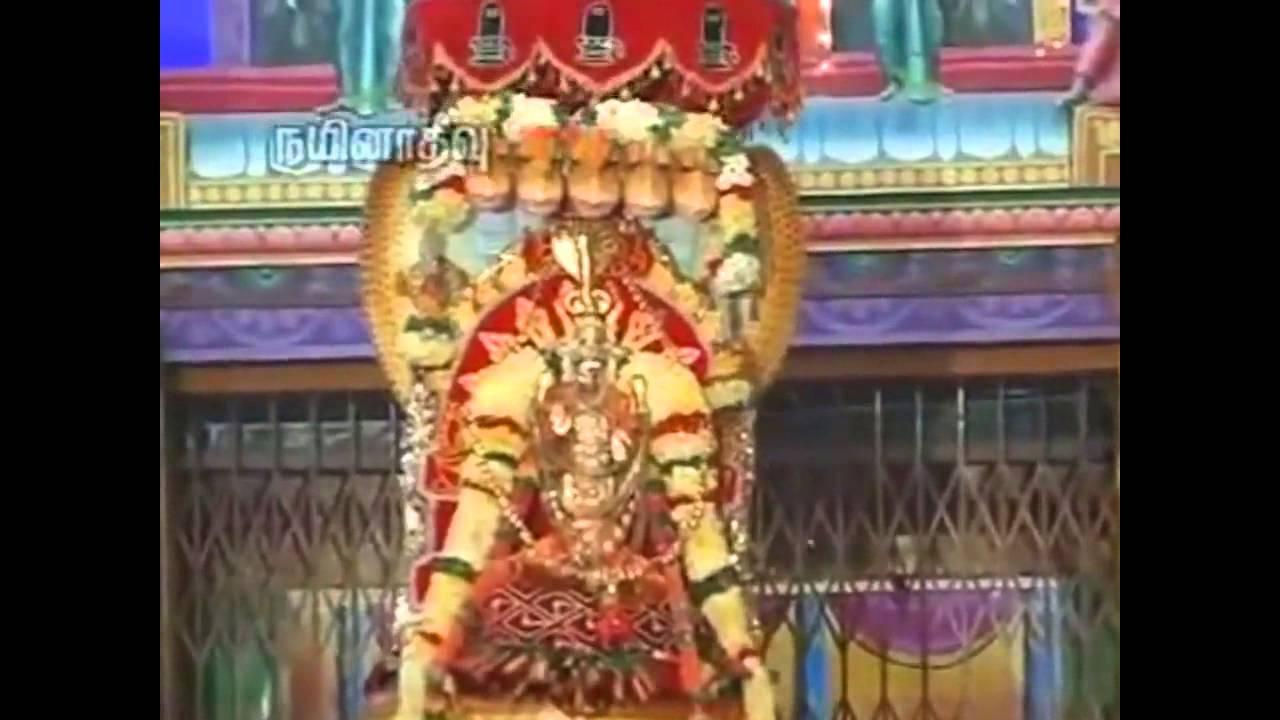 nainativu nagapoosani amman song - Aalaya Mani Osai Olikkingathu