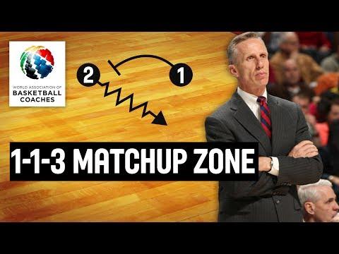 1-1-3 Matchup Zone - Mike Dunlap Loyola Marymount Lions - Basketball Fundamentals